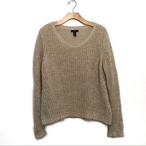 Gap Scoop Neck Knit Sweater